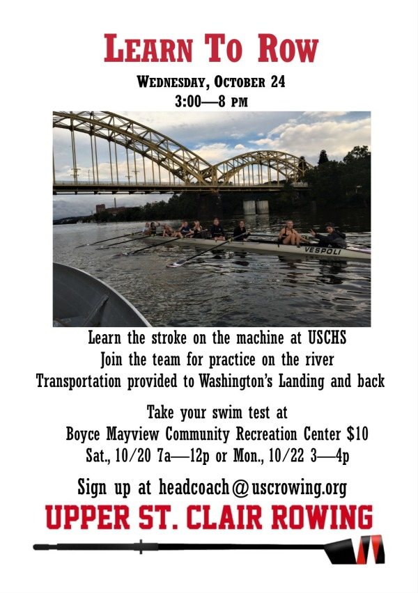 Upper St. Clair Learn To Row