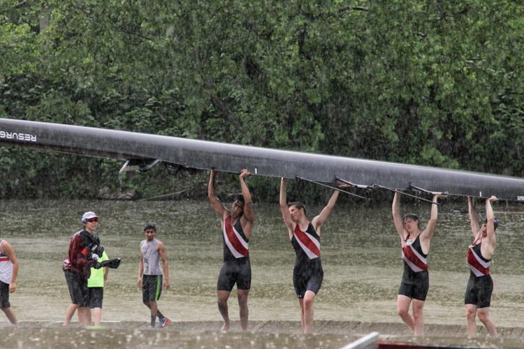 USC Rowing Rain Patricia Toth McCormick