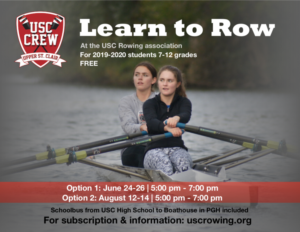 Lear to Row CREW Upper St. Clair