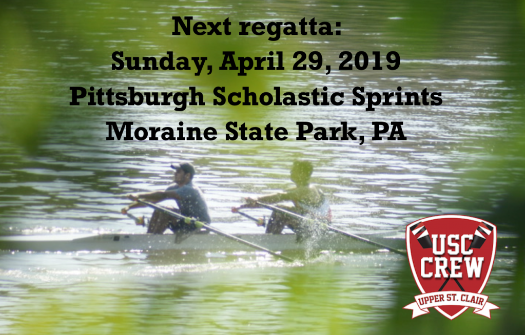 Upper St. Clair Rowing CREW at Moraine State State Park