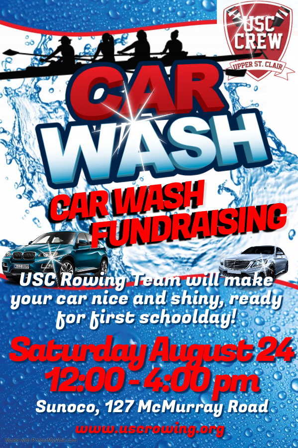 USC Rowing Carwash Sunoco Saturday August 24