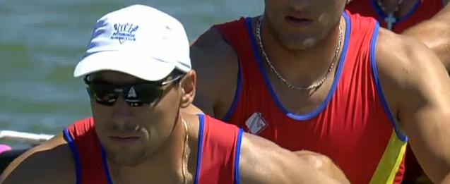 USC Rowing Florin Curuea